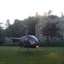 norton manor helicopter